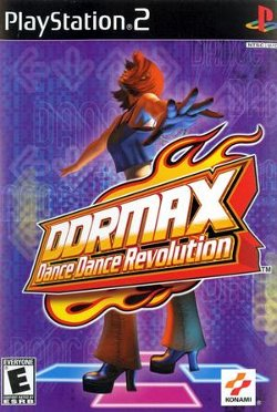 Box artwork for DDRMAX Dance Dance Revolution.
