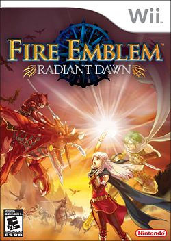 Box artwork for Fire Emblem: Radiant Dawn.