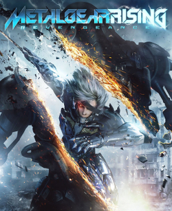 Box artwork for Metal Gear Rising: Revengeance.