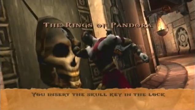 God Of War Rings Of Pandora Skull Door