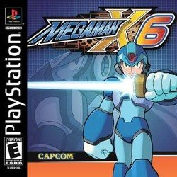 Box artwork for Mega Man X6.