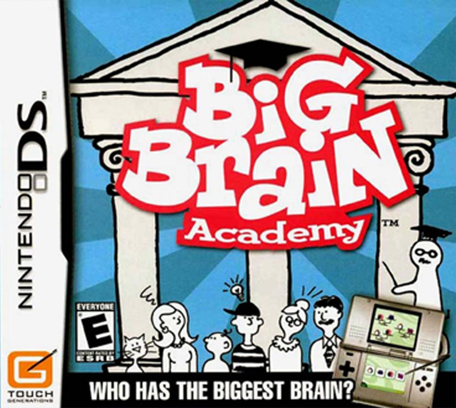 Box artwork for Big Brain Academy.