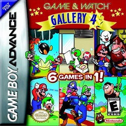 Box artwork for Game & Watch Gallery 4.