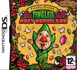 Box artwork for Freshly-Picked Tingle's Rosy Rupeeland.