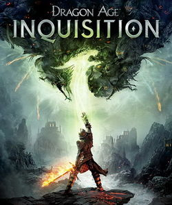 Box artwork for Dragon Age: Inquisition.