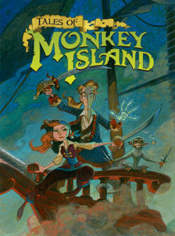 Box artwork for Tales of Monkey Island.