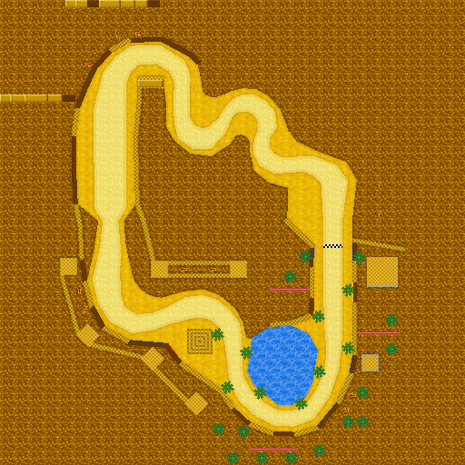 Mario Kart Ds Desert Hills Strategywiki The Video Game