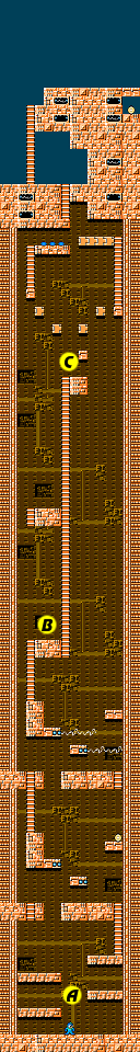 Mega Man 1 Elec Man map1.png