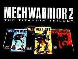Box artwork for MechWarrior 2: The Titanium Trilogy.