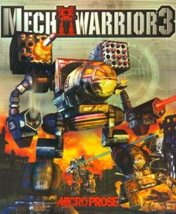 Box artwork for MechWarrior 3.