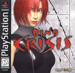 Box artwork for Dino Crisis.