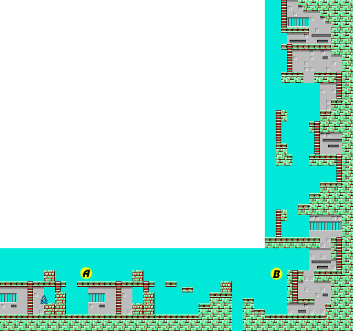 Mega Man 1 Cut Man map1.png