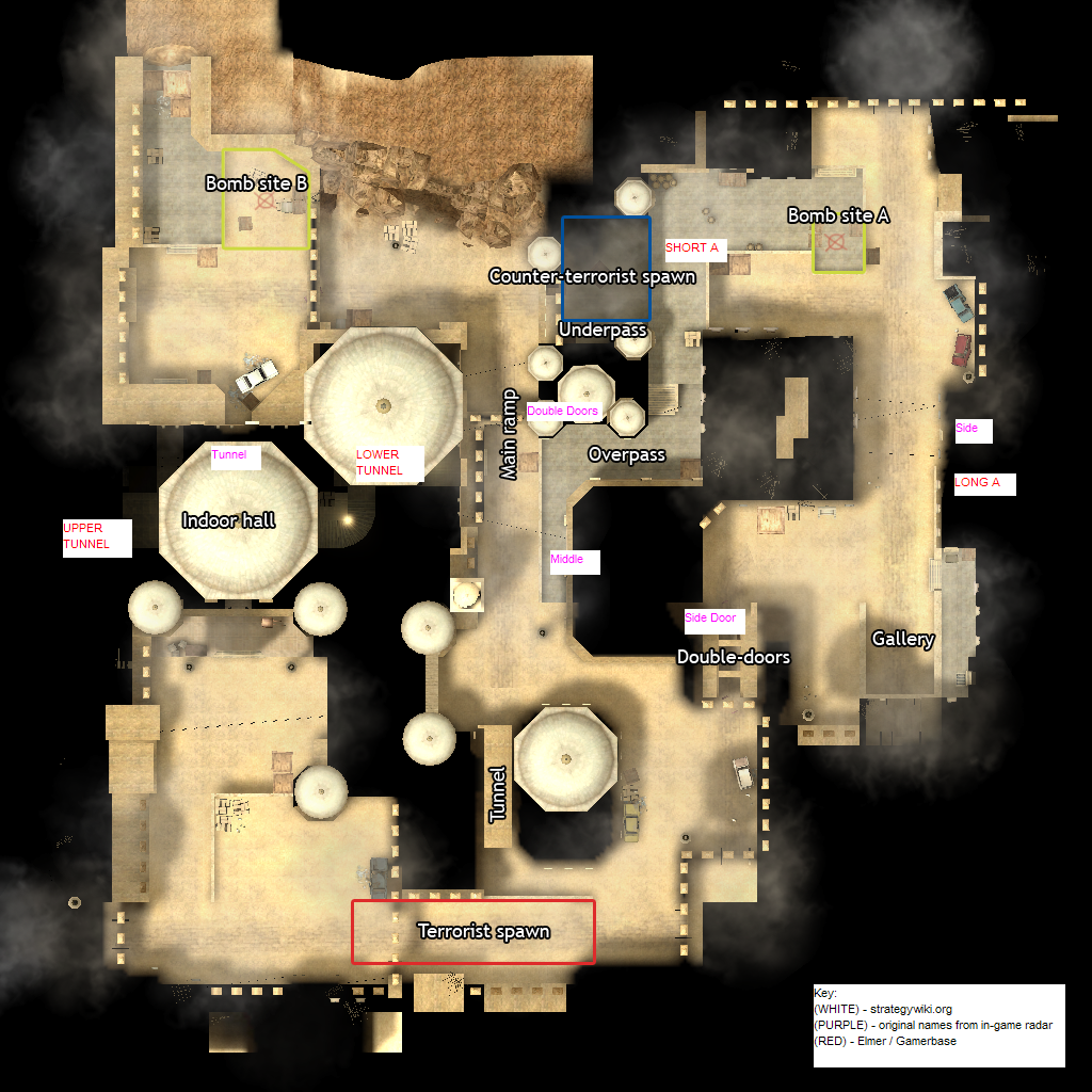 Counter Strike Source De Dust2 Strategywiki The Video