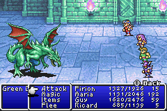 Final Fantasy II boss Green Dragon.png