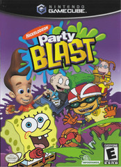 Box artwork for Nickelodeon Party Blast.
