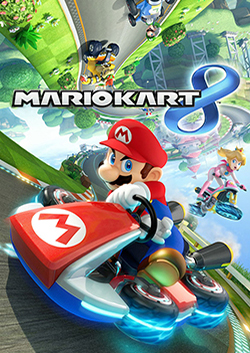 Box artwork for Mario Kart 8.
