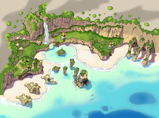Jak And Daxter Misty Island Orbs Map