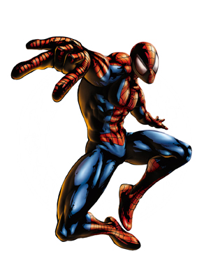 Marvel vs capcom characters spider man strategywiki - Table et chaise spiderman ...