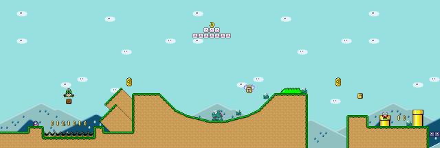 Mario Chocolate Island  Secret Exit