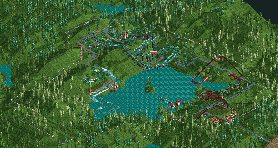 Rollercoaster Tycoon  Building Controls