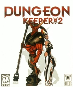 Box artwork for Dungeon Keeper 2.