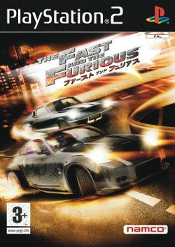 Box artwork for The Fast and the Furious.