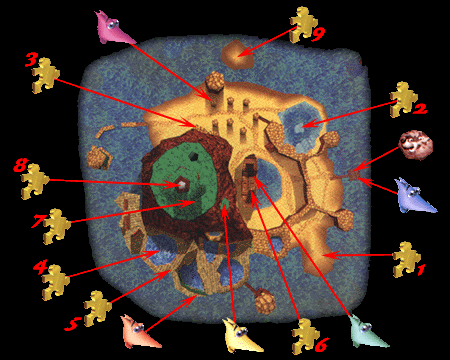 Banjo-Kazooie Treasure Trove Cove Jiggies and Jinjos.png