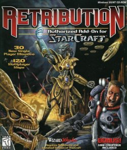 Box artwork for StarCraft: Retribution.