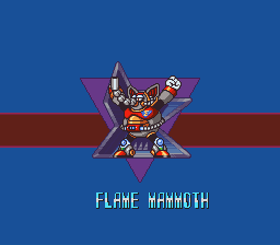 Mega Man X Flame Mammoth Strategywiki The Video Game Walkthrough And Strategy Guide Wiki