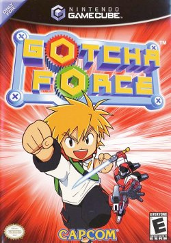 Box artwork for Gotcha Force.