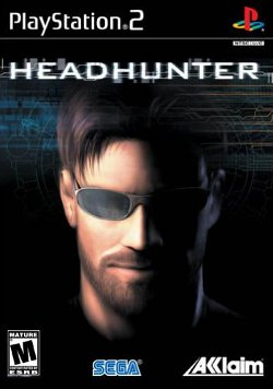 Box artwork for Headhunter.