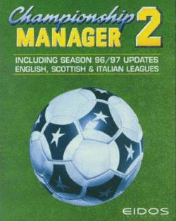 Box artwork for Championship Manager 2: 96/97 Update.