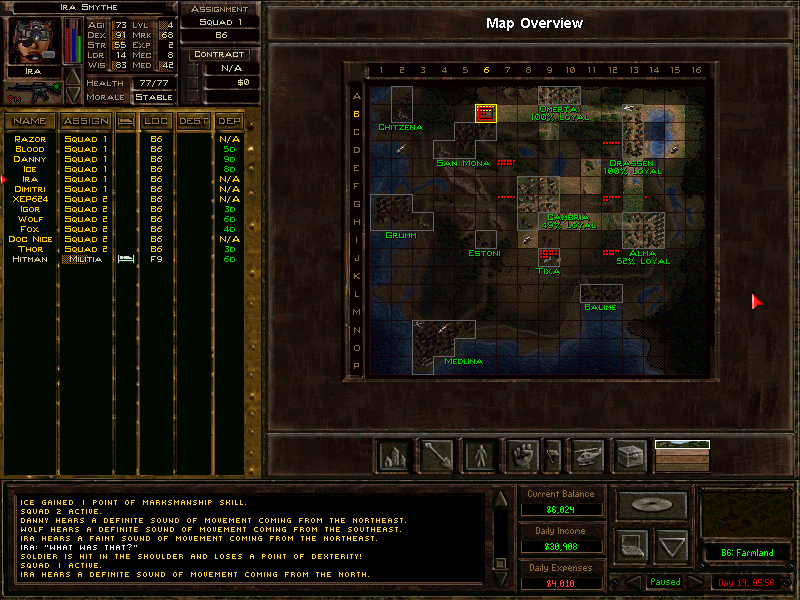 Jagged Alliance 2 Map Strategywiki The Video Game