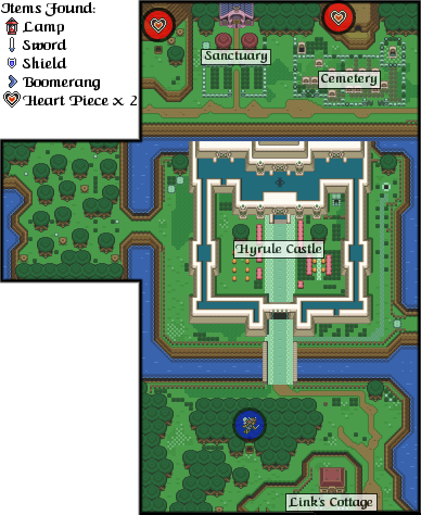 The Legend Of Zelda A Link To The Past Hyrule Castle