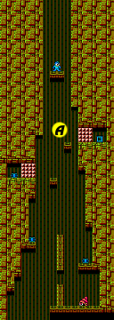 Mega Man 2 map Wily Stage 3A.png