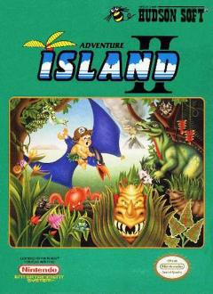 Box artwork for Adventure Island II.