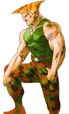 marvel vs capcom characters guile strategywiki the
