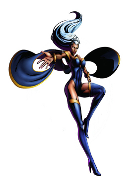 Marvel Vs Capcom Characters Storm Strategywiki The