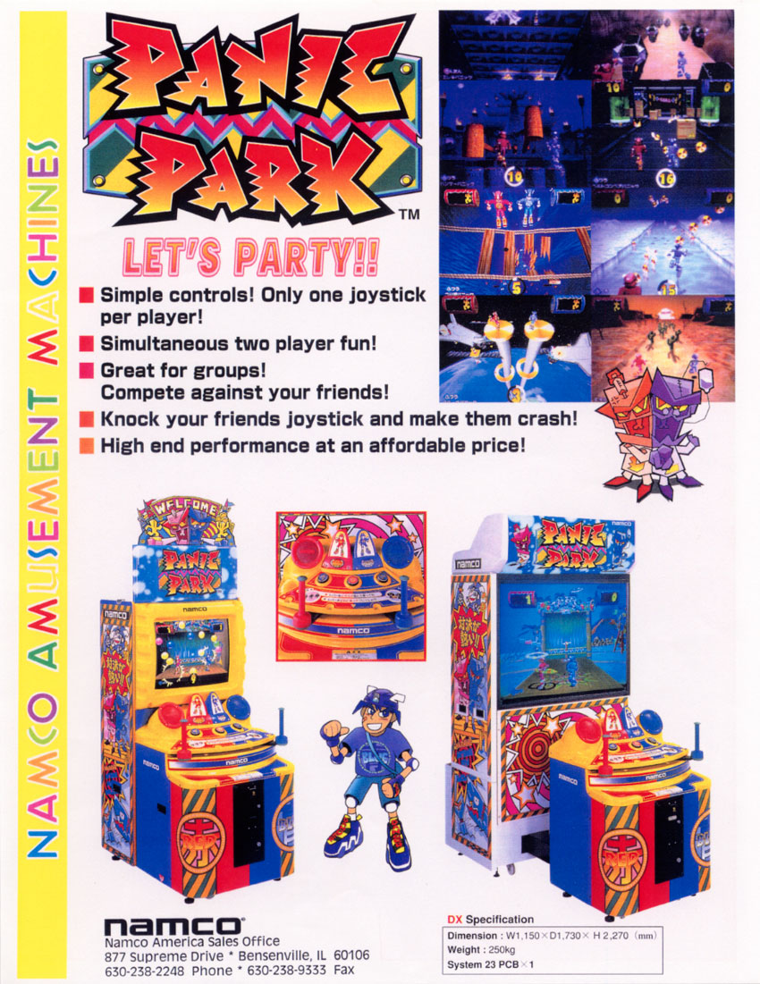 Panic Park Strategywiki The Video Game Walkthrough And