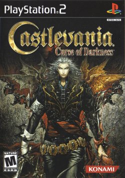 Box artwork for Castlevania: Curse of Darkness.
