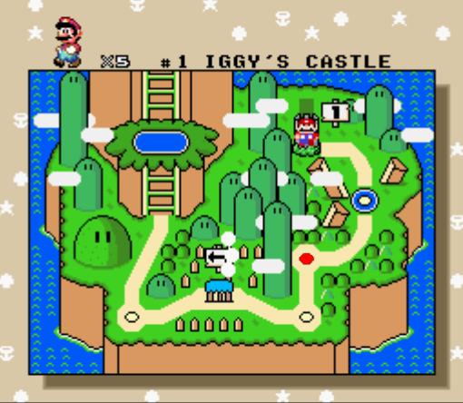 Mario Yoshi S Island Beating The Ghost