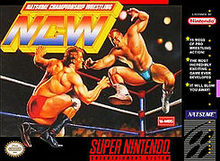 Box artwork for Natsume Championship Wrestling.