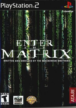 Box artwork for Enter the Matrix.