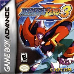 Box artwork for Mega Man Zero 3.