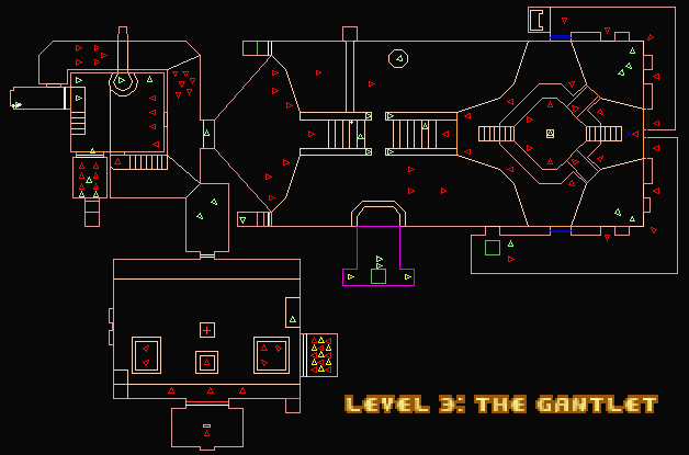 Doom II Hell on Earth MAP03 The Gantlet u2014 StrategyWiki, the video game walkthrough and