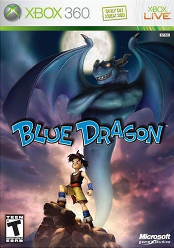 Box artwork for Blue Dragon.