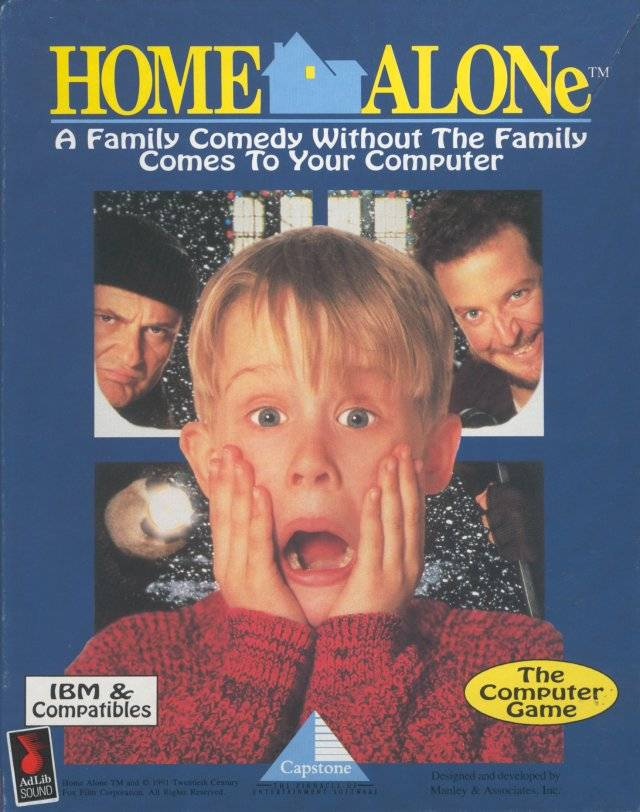 Home Alone Dos Game Controls