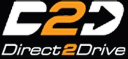 The logo for Direct2Drive.