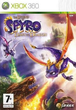 Box artwork for The Legend of Spyro: Dawn of the Dragon.