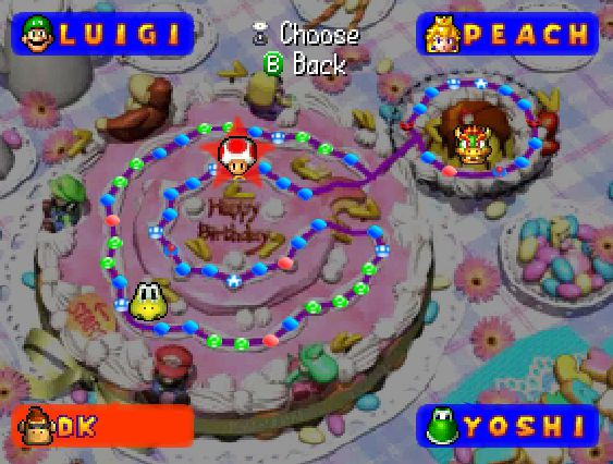 Mario Party Peach S Birthday Cake Strategywiki The